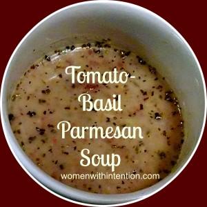 Tomato-Basil Parmesan Soup