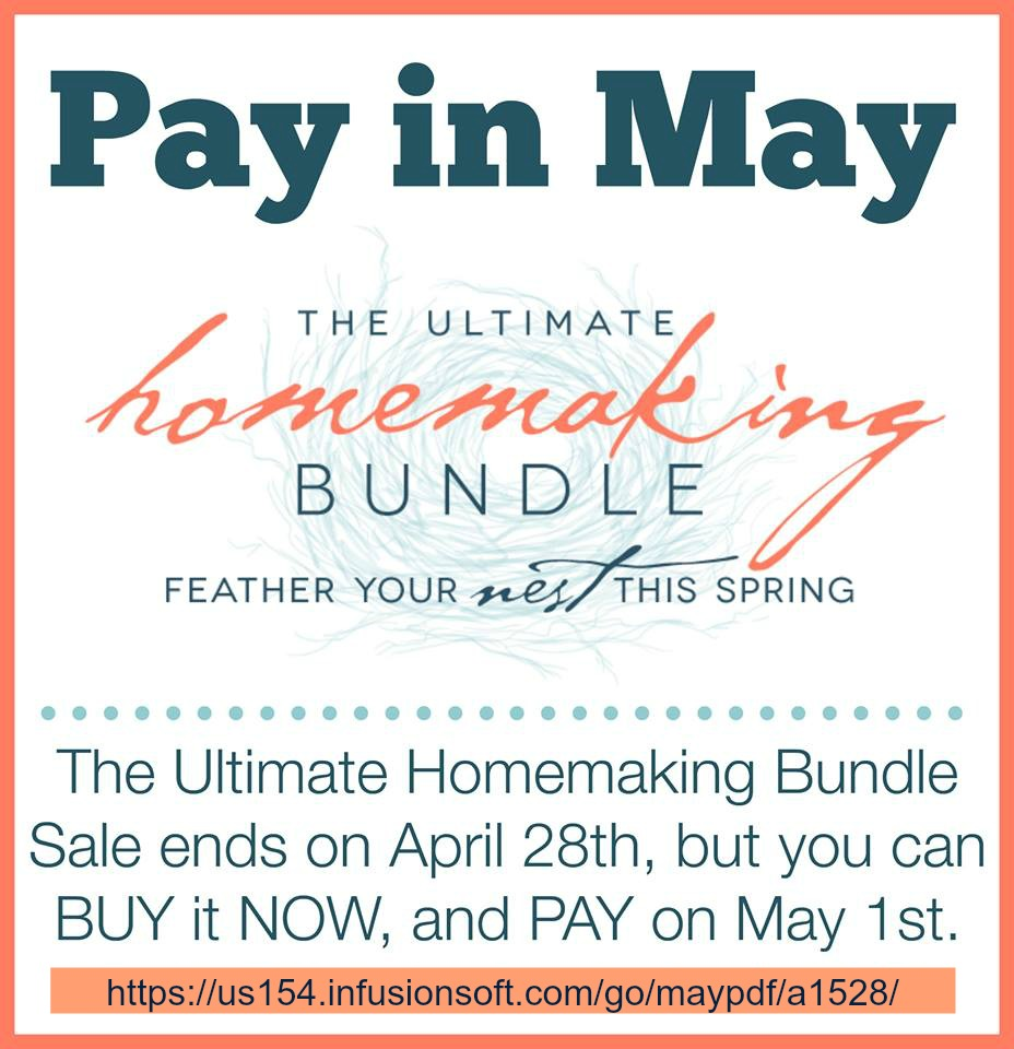 Exciting News About The Homemaking Bundle!!