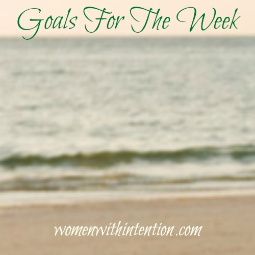 Goals For The Week: February 15, 2016