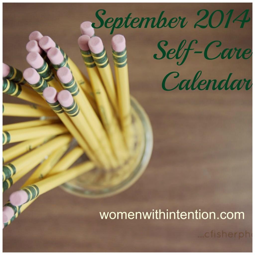 September Self-Care Calendar