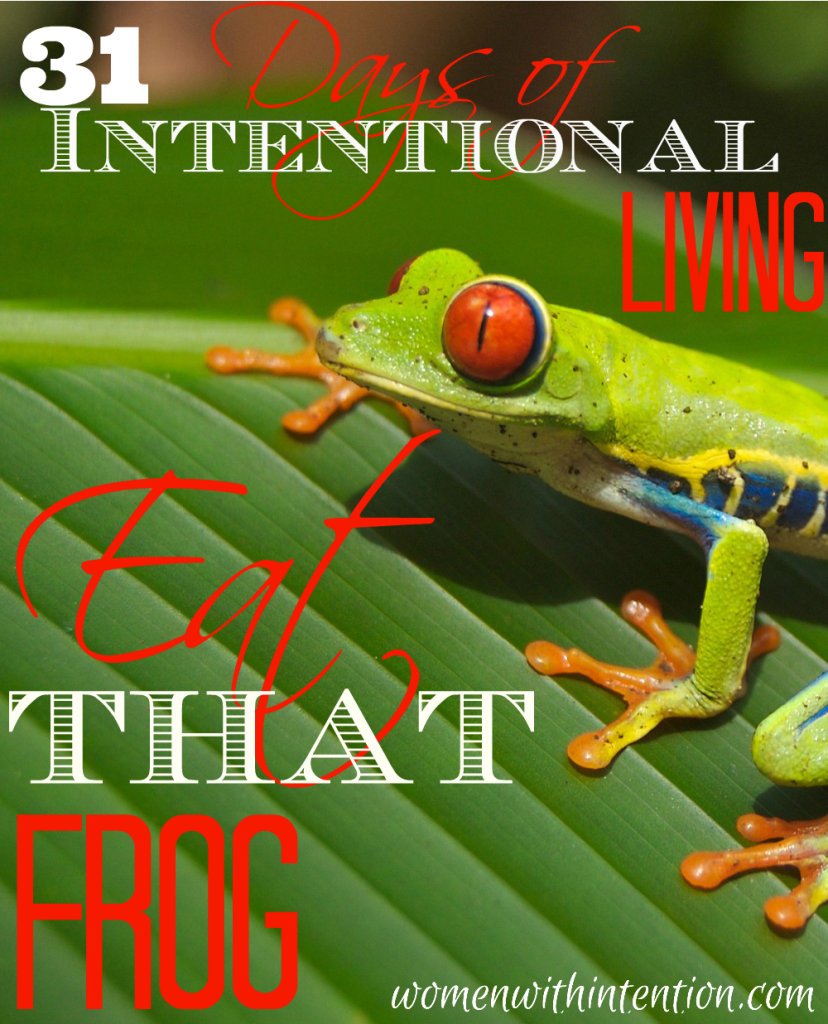 """Have you ever had one of those days where you felt like you didn't get anything done?  How would you like to never feel like that again?  By choosing to """"Eat That Frog"""" you will never feel like that again!  Here's how!"""