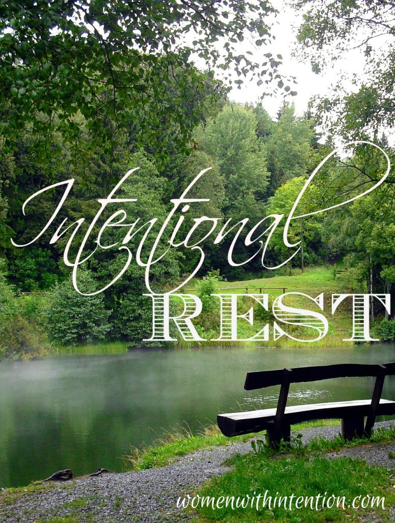 When is the last time you stopped, took a break from the daily grind, and intentionally got some rest?