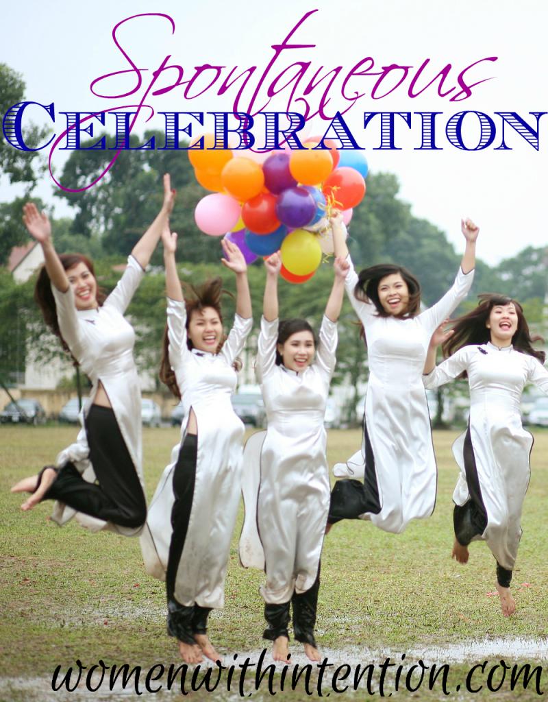 Spontaneous Celebration