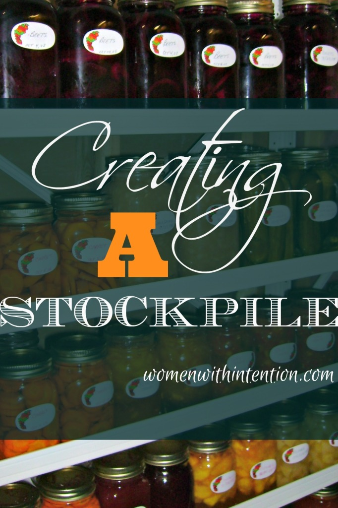 Creating A Stockpile- Introduction
