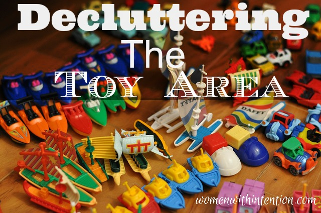 Decluttering The Toy Area