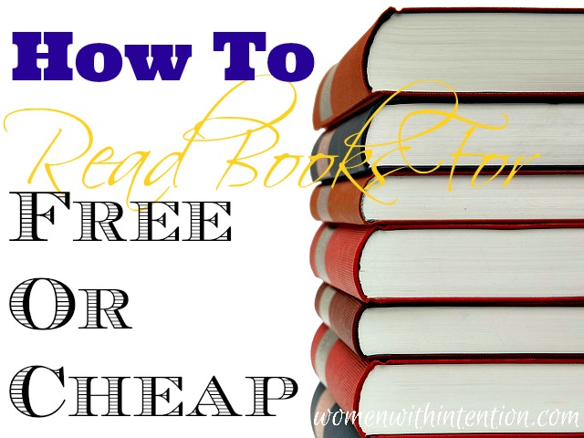 How To Read Books For Free Or Cheap