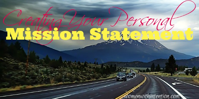 Creating Your Personal Mission Statement