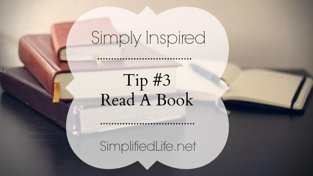 Tip #3 Read A Book