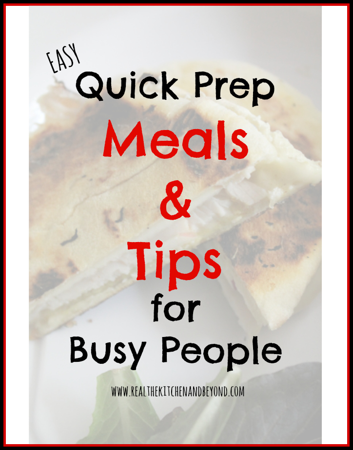 Quick and Easy Prep Meals Recipes and Tips