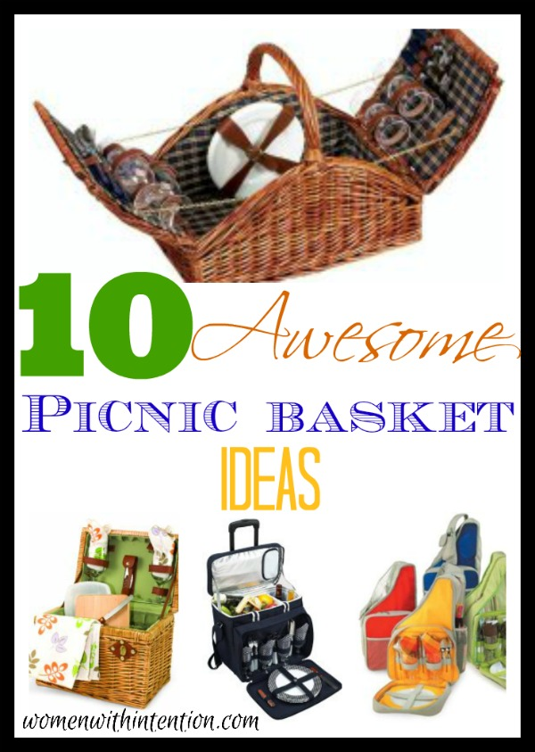 Today is international picnic day! My family loves having a picnic, whether it's under a tree, at the park, or lake! Here are 10 awesome picnic basket ideas
