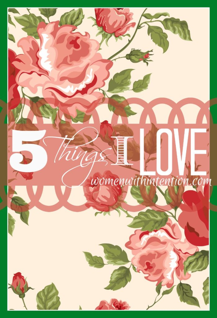 Have you ever sat down and thought about what you were grateful for in your life? Each Monday I list out my 5 favorite things for the week. These can be experiences, products or anything that made life enjoyable the prior week! Here are my 5 Favorite Things from last week!