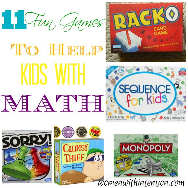 11 Fun Games To Help Kids With Math