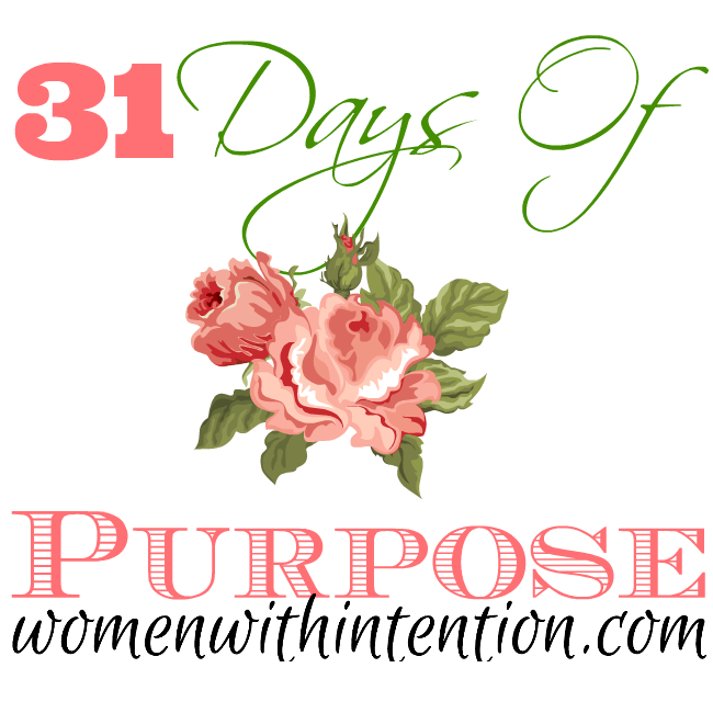 31 days of purpose 650 button