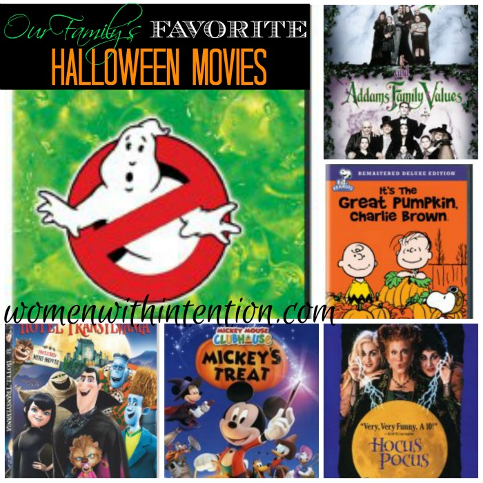 As holidays go, my kids like to watch the movies that relate to the holiday. Here are our favorite Halloween movies!