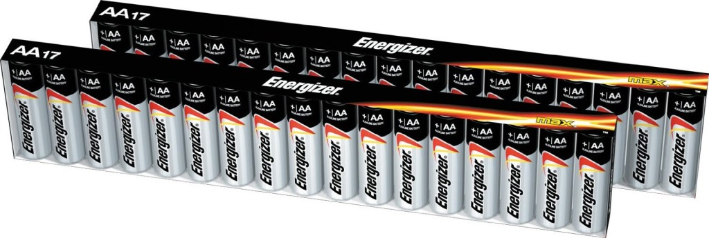 Hot Deal! 34 Energizer MAX AA Batteries For $9.34 @ Amazon