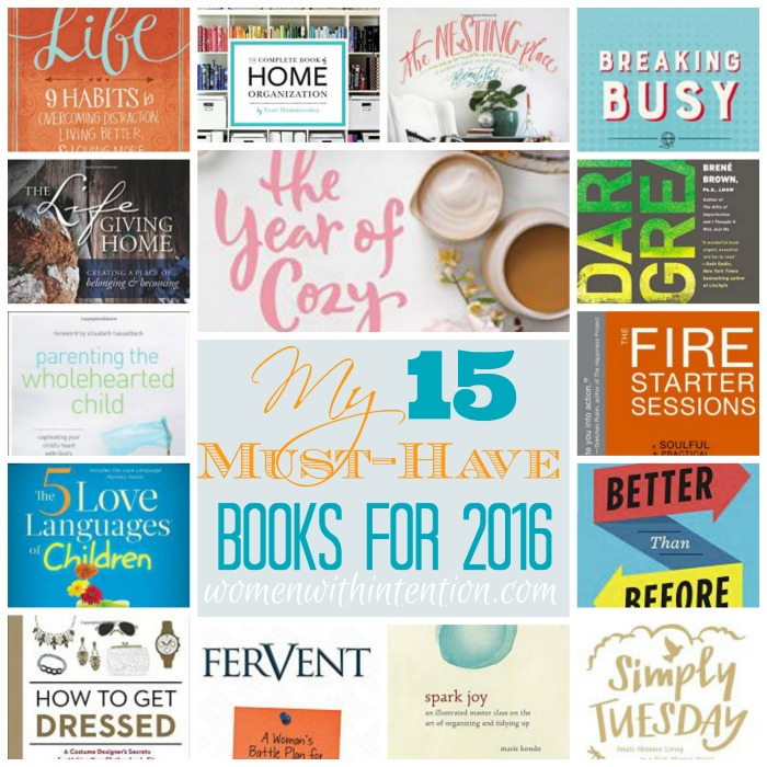 What are your must-have books for 2016? I decided in 2016 to round up my must-have books in a list because I always have a large amount of books I want to read but not enough time to pursue them all! By narrowing down the top 15, I am hoping that not only will I read these but also have time to read some others that I can add later!
