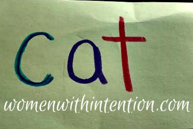 cat note card game