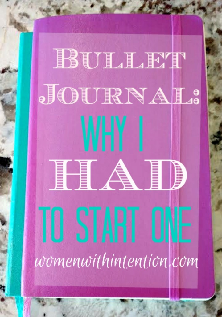 Bullet Journal: Why I HAD To Start One