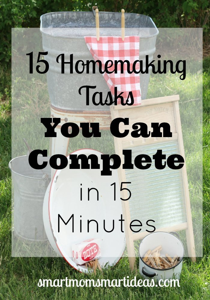 15-Homemaking-Tasks