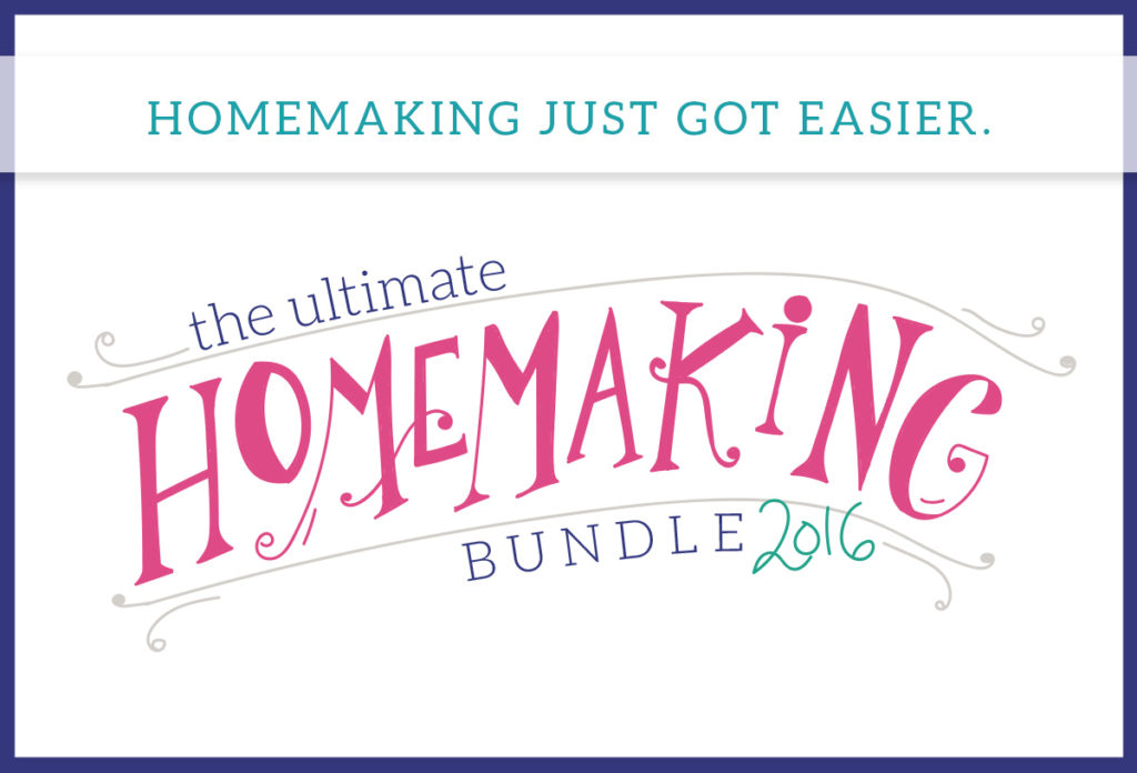 Homemaking Tools (That I Love!) The Ultimate Homemaking Bundle