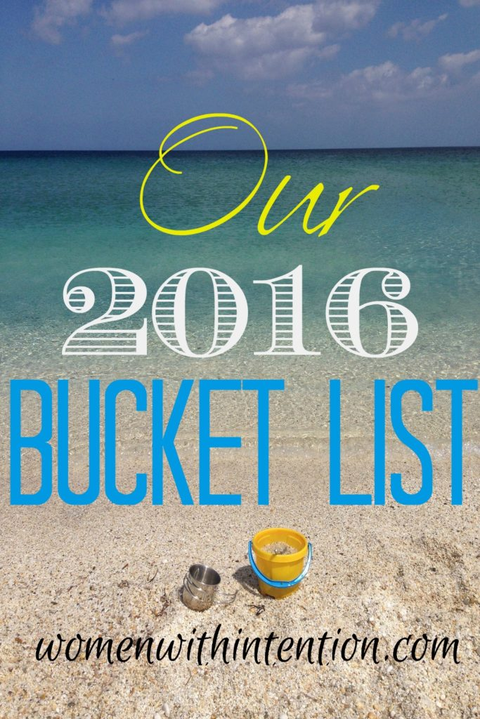 Our 2016 Summer Bucket List