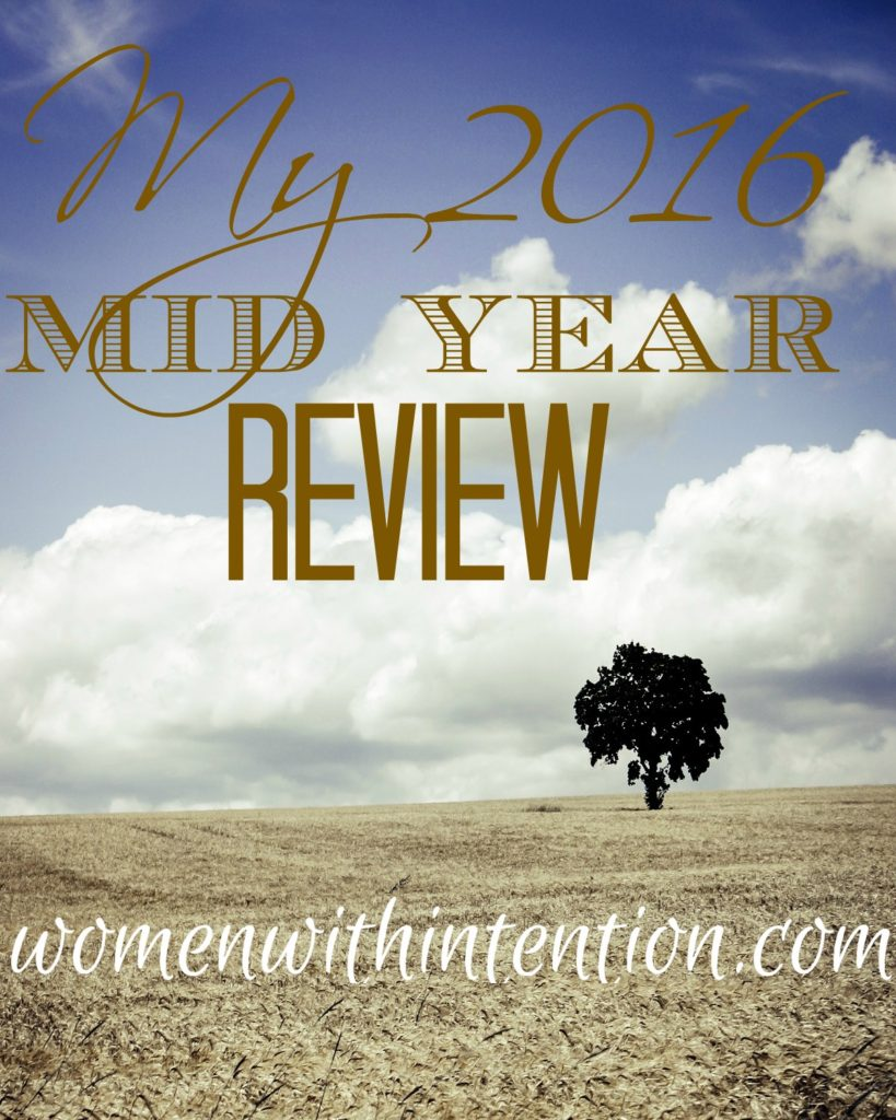 My 2016 Mid Year Review