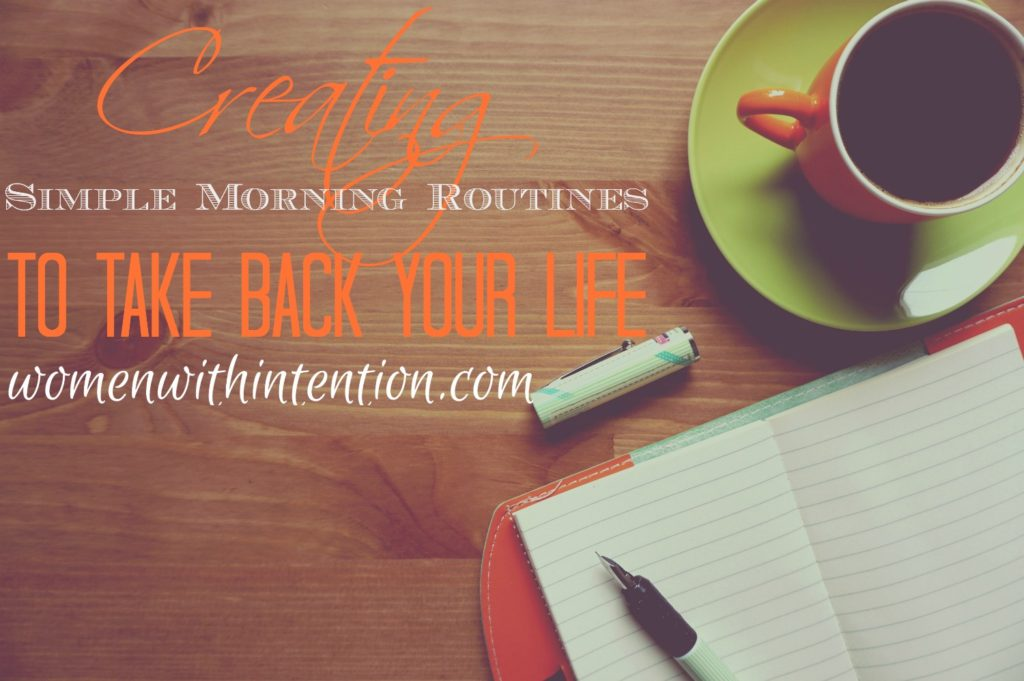 I don't know about you but I function much more effectively when I have a plan and can execute that plan! I love summer vacation and being able to be spontaneous on activities but as a business owner and blogger, I am much more productive and effective with a schedule! Do you feel that way, too? By creating simple morning routines, we can take back our mornings and feel less stress and more productive!