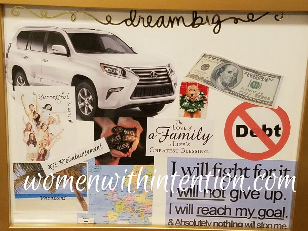 Vision boards are also known as dream boards and vision or treasure maps. This useful tool helps you put your dreams and goals down on paper (or through an app) so you have a place to see them, visualize what you are working for, and dream.